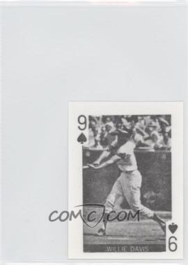 1969 Globe Imports Playing Cards - Gas Station Issue [Base] #9S - Willie Davis