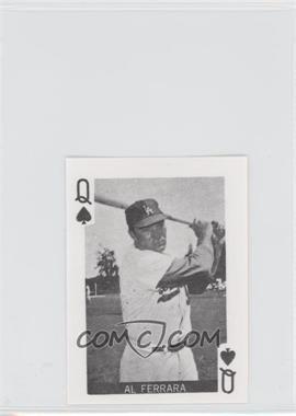 1969 Globe Imports Playing Cards - Gas Station Issue [Base] #QS - Al Ferrara