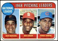1968 NL Pitching Leaders (Juan Marichal, Bob Gibson, Fergie Jenkins) [VGE…