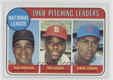 1969 Topps - [Base] #10 - Juan Marichal, Bob Gibson, Fergie Jenkins