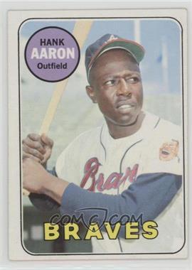 1969 Topps - [Base] #100 - Hank Aaron