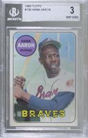 Hank Aaron [BGS 3 VERY GOOD]