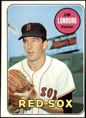1969 Topps - [Base] #109 - Jim Lonborg [GOOD]