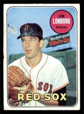 1969 Topps - [Base] #109 - Jim Lonborg [GOOD]
