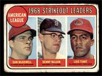 Sam McDowell, Denny McLain, Luis Tiant [POOR]