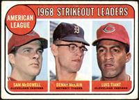 Sam McDowell, Denny McLain, Luis Tiant [GD+]