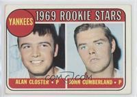 1969 Rookie Stars - Al Closter, John Cumberland [GoodtoVG‑EX]