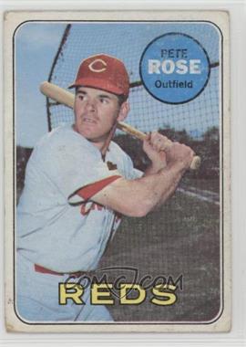 1969 Topps - [Base] #120 - Pete Rose [GoodtoVG‑EX]