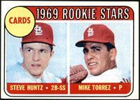 1969 Rookie Stars - Steve Huntz, Mike Torrez [EXMT]