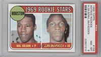 1969 Rookie Stars - Hal Gilson, Leon McFadden [PSA8NM‑MT]