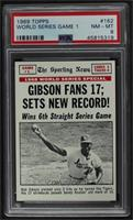 Bob Gibson [PSA8NM‑MT]