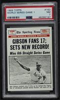 Bob Gibson [PSA7NM]