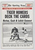 1968 World Series, Willie Horton (Game 2) [GoodtoVG‑EX]