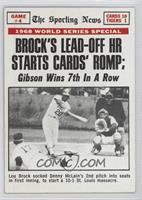 St. Louis Cardinals Team, Lou Brock [GoodtoVG‑EX]