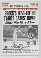 St. Louis Cardinals Team, Lou Brock
