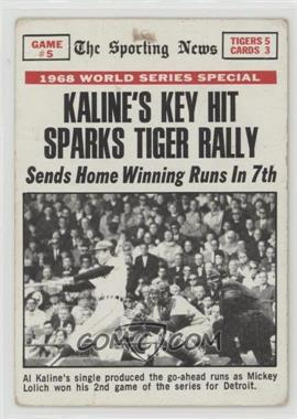 1969 Topps - [Base] #166 - Al Kaline [Poor]