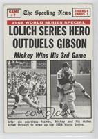Mickey Lolich [GoodtoVG‑EX]