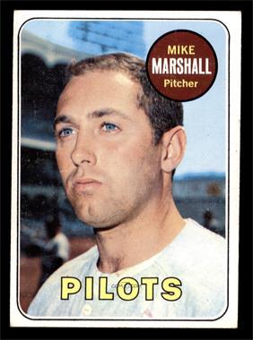 1969 Topps - [Base] #17 - Mike Marshall [VGEX]