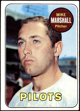 1969 Topps - [Base] #17 - Mike Marshall [VG EX]