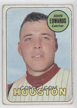 1969 Topps - [Base] #186 - Johnny Edwards [PoortoFair]