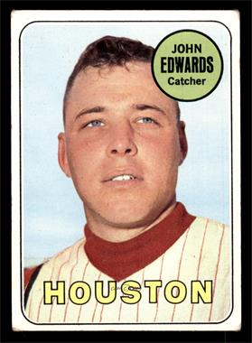 1969 Topps - [Base] #186 - Johnny Edwards [VG EX]