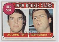 1969 Rookie Stars - Joe Lahoud, John Thibdeau