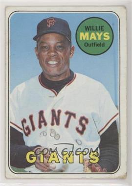 1969 Topps - [Base] #190 - Willie Mays [PoortoFair]