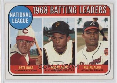 1969 Topps - [Base] #2 - Pete Rose, Felipe Alou, Matty Alou