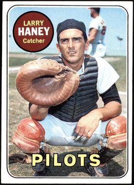 1969 Topps - [Base] #209 - Larry Haney [VG+]