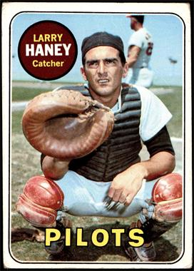1969 Topps - [Base] #209 - Larry Haney [GOOD]