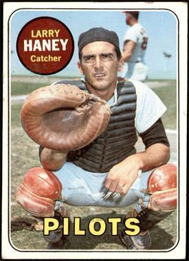 1969 Topps - [Base] #209 - Larry Haney [VGEX]