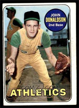 1969 Topps - [Base] #217 - John Donaldson [VG]