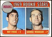 1969 Rookie Stars - Ray Fosse, George Woodson [VG+]