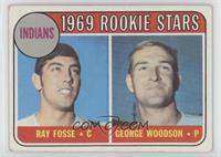1969 Rookie Stars - Ray Fosse, George Woodson [GoodtoVG‑EX]