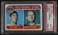 1969 Rookie Stars - Ray Fosse, George Woodson [PSA8NM‑MT]