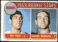 1969 Rookie Stars - Ray Fosse, George Woodson [GOOD]