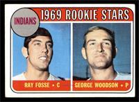 1969 Rookie Stars - Ray Fosse, George Woodson [VGEX]