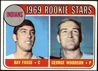 1969 Rookie Stars - Ray Fosse, George Woodson [VG]