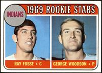 1969 Rookie Stars - Ray Fosse, George Woodson [VG EX+]