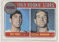 1969 Rookie Stars - Ray Fosse, George Woodson