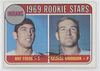 1969 Rookie Stars - Ray Fosse, George Woodson