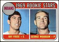 Indians Rookies (Ray Fosse, George Woodson) [VG EX+]