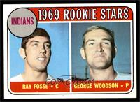 Indians Rookies (Ray Fosse, George Woodson) [EXMT]