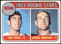 Indians Rookies (Ray Fosse, George Woodson) [GOOD]