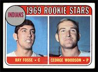 Indians Rookies (Ray Fosse, George Woodson) [VG]