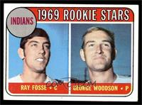 Indians Rookies (Ray Fosse, George Woodson) [VG EX]