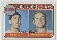 Indians Rookies (Ray Fosse, George Woodson) [Good to VG‑EX]