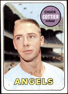 1969 Topps - [Base] #252 - Chuck Cottier [VG EX]