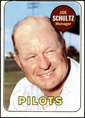 1969 Topps - [Base] #254 - Joe Schultz [GOOD]