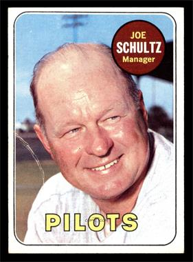1969 Topps - [Base] #254 - Joe Schultz [GOOD]